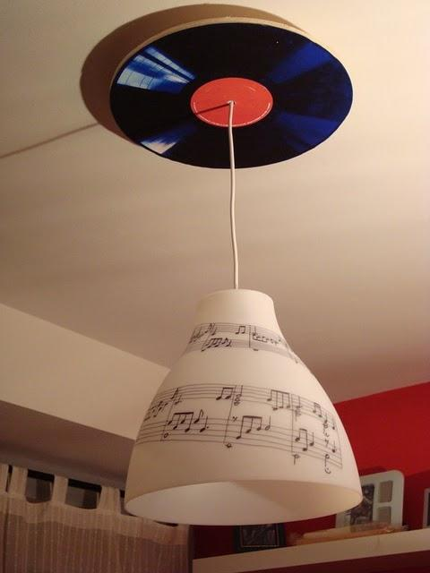Ikea hack la l mpara melodi de cph paperblog - Lamparas de papel ikea ...