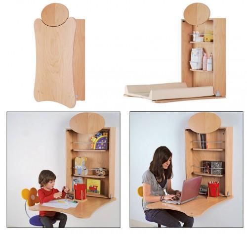 Cambiador plegable de pared pratiko paperblog - Como hacer un cambiador para bebes ...