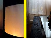 Lámpara cartón