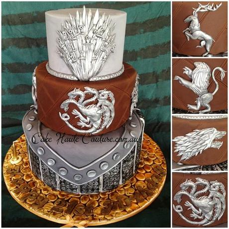 Look at this Game of Thrones Cake Roxanne. @Roxanne R. Reber: