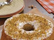 Pistachio Angel Food Cake
