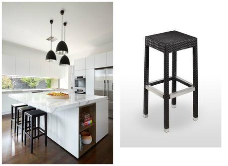 8 cocinas con barra alta para comer taburetes para equiparlas paperblog - Taburetes para barra de cocina ...