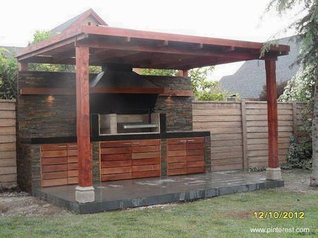 Modelos de quinchos para asados paperblog for Techos modernos para patios