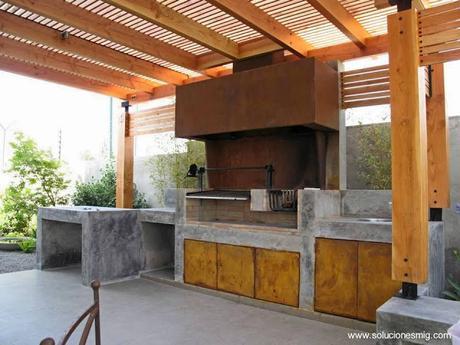 Modelos de quinchos para asados paperblog for Modelos techos para garage