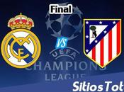 Real Madrid Atlético Vivo Champions League Sábado Mayo 2016
