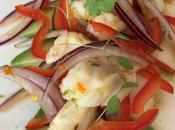Ceviche bacalao
