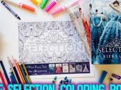 Libro para colorear selección, Kiera Cass