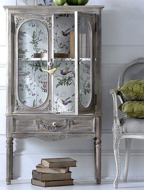 Muebles pintados con pintura a la tiza paperblog - Muebles pintados en plata ...