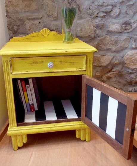Muebles pintados con pintura a la tiza paperblog - Papel pintado vigo ...