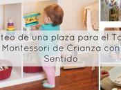 Sorteo plaza para Taller Montessori Crianza Sentido Madrid)