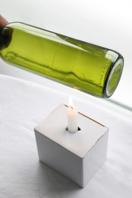 Reciclar vidrio c mo cortar botellas de cristal paperblog - Comprar tarros de cristal pequenos ...