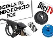 Mecánica montaje mando remoto bloqueo horquilla