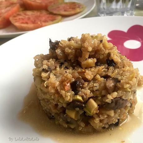 Quinoa con verduras paperblog - Cocinar quinoa con verduras ...