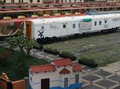 Trasladan vagón Ciencia Museo Ferrocarril