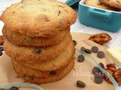Cookies chocolates nueces caramelizadas