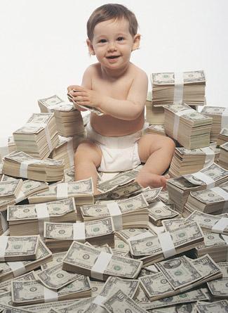 los niños gastan mucho dinero
