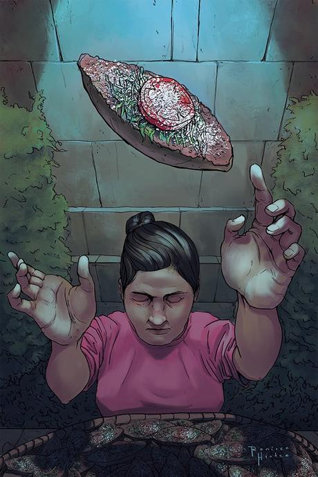Doña Molletes ilustración