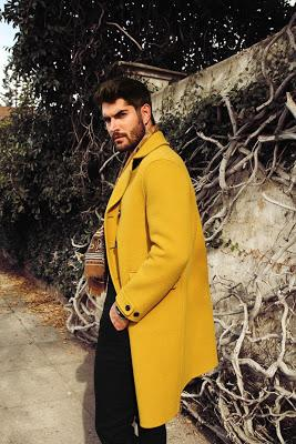 Nick Bateman, L'Officiel Hommes, Katya Tsyganova, lookbook, Magazine, Suits and Shirts, supermodel, Aisha Rae,