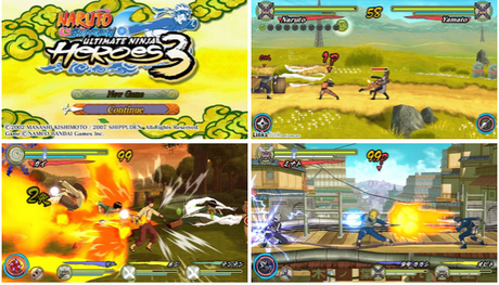 Naruto Shippuden: Ultimate Ninja Heroes 3 [Multi/Español] [PSP]