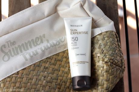 SUN EXPERTISE Emulsión Protectora Dry Touch de Skeyndor| SORTEO