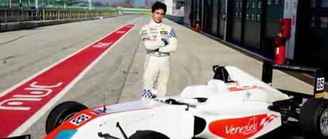 El talentoso piloto venezolano, Mauricio Baíz, se estrena en la F4 alemana
