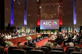 AEC en Cuba: unidad, cambio climático, desarollo sostenible