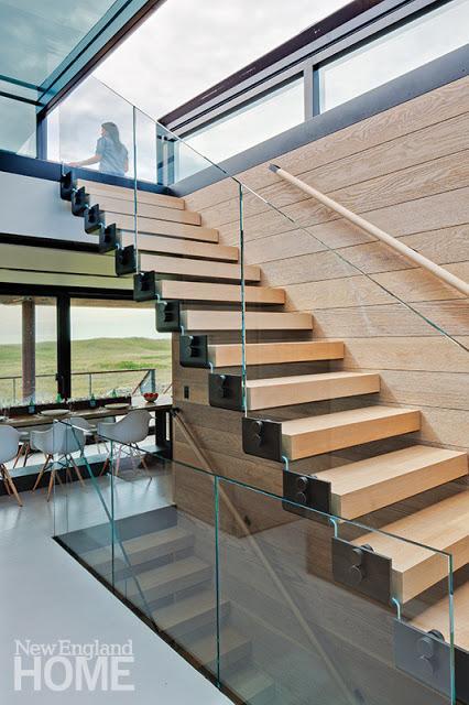 Escaleras en Casas Minimalistas