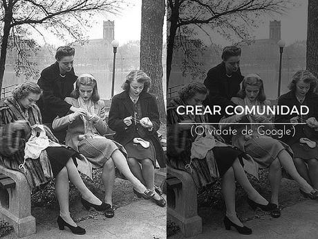 Escribir un blog: crear comunidad.
