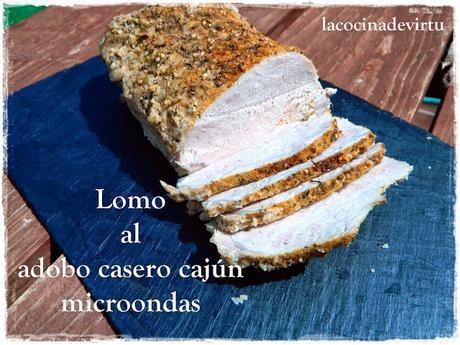 Lomo Al Adobo Casero Cajún (microondas)