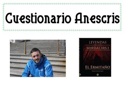 #Cuestionario Anescris de Sergio García López
