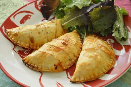 Empanadillas rápidas de bonito al horno