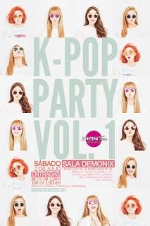 K-POP PARTY VOL.1 (¡2 de julio en Barcelona!)