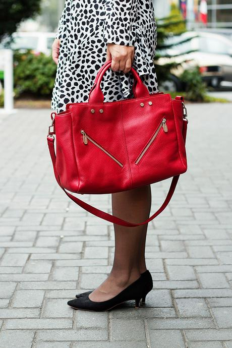 Mis Looks - De negro, blanco y rojo!