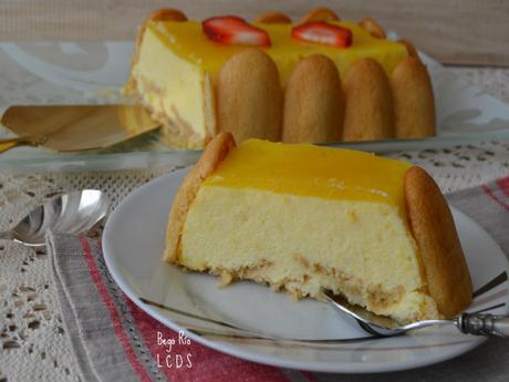 Pastel de mango