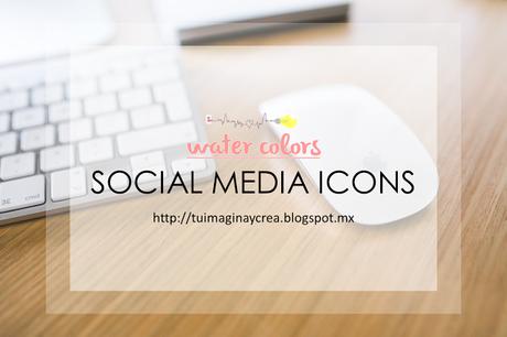 iconos sociales para blogger