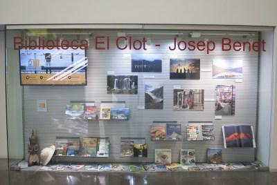exposición en la biblioteca de El Clot