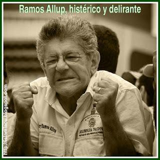 El materialismo histérico de Ramos Allup
