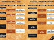 Horarios distribución escenarios Azkena Rock Festival 2016