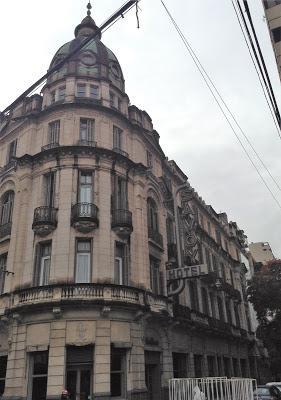 Turista en la city (Rosario)