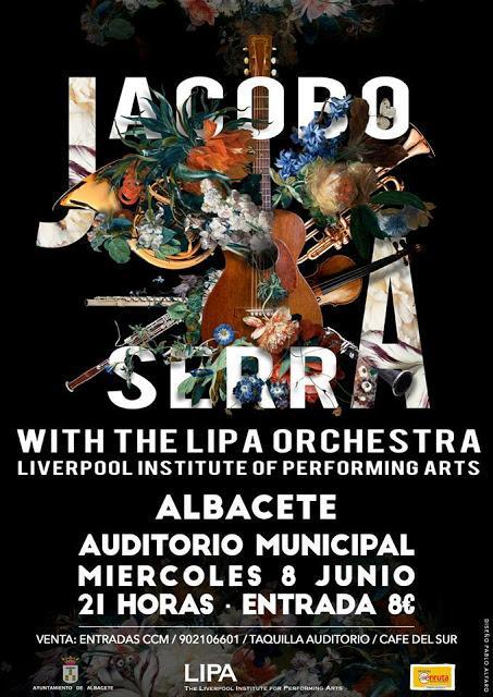 [Noticia] Jacobo Serra actuará en Albacete acompañado de los músicos de la escuela de Paul McCartney