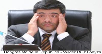 Cree que lo merece: WILDER RUIZ QUIERE SER GOBERNADOR REGIONAL DE LIMA…