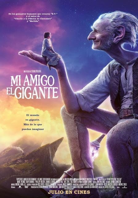 MI AMIGO EL GIGANTE, dirigida por Steven Spielberg
