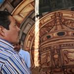 """Pintan mural """"San Luis Potosí Corazón de Cantera"""" en punte de Niño Artillero"""