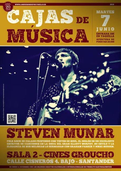 Steven Munar en el ciclo Cajas de Música