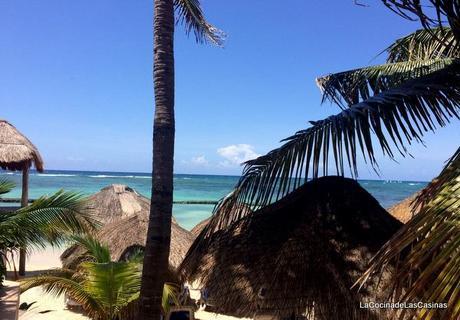 Las Chikas en México, Playa del Carmen: Pollo  Pibil estilo Yucatán