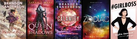 TOP 5: ¡Libros que quiero leer ya!