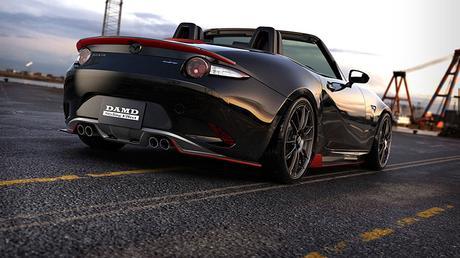 Mazda MX-5 DAMD. El MX-5 que Bruce Wayne querría tener