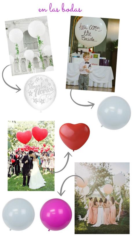 globos: cientos de formas, cientos de ideas!