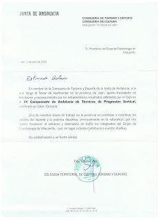 Carta de la Delegada