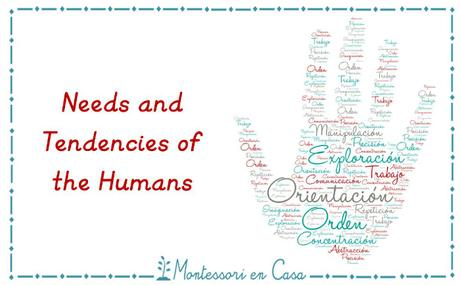 Las necesidades y tendencias humanas – Needs and tendencies of humans